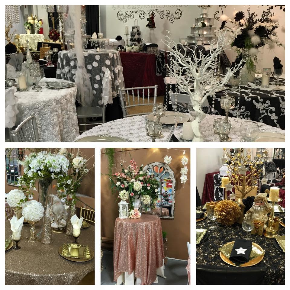 Wedding decor rentals wedding rentals a s party rental for Wedding reception decoration hire