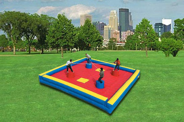 4 Way Joust Inflatable