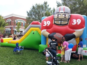 Ohio State Buckeye Inflatable Bounce House