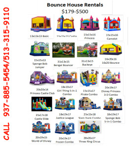 Party Rental Catalog
