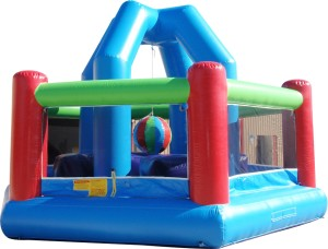 Demolition Ball Bounce House