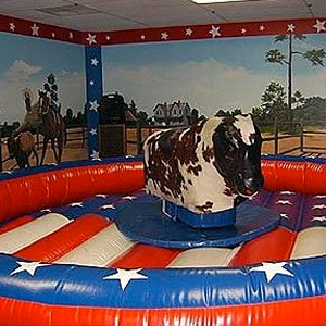 Mechanical Bull - College Party Rental