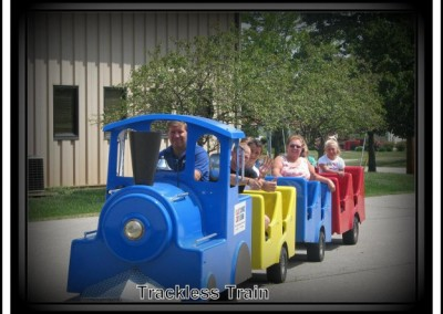 Trackless Train Rentals Ohio