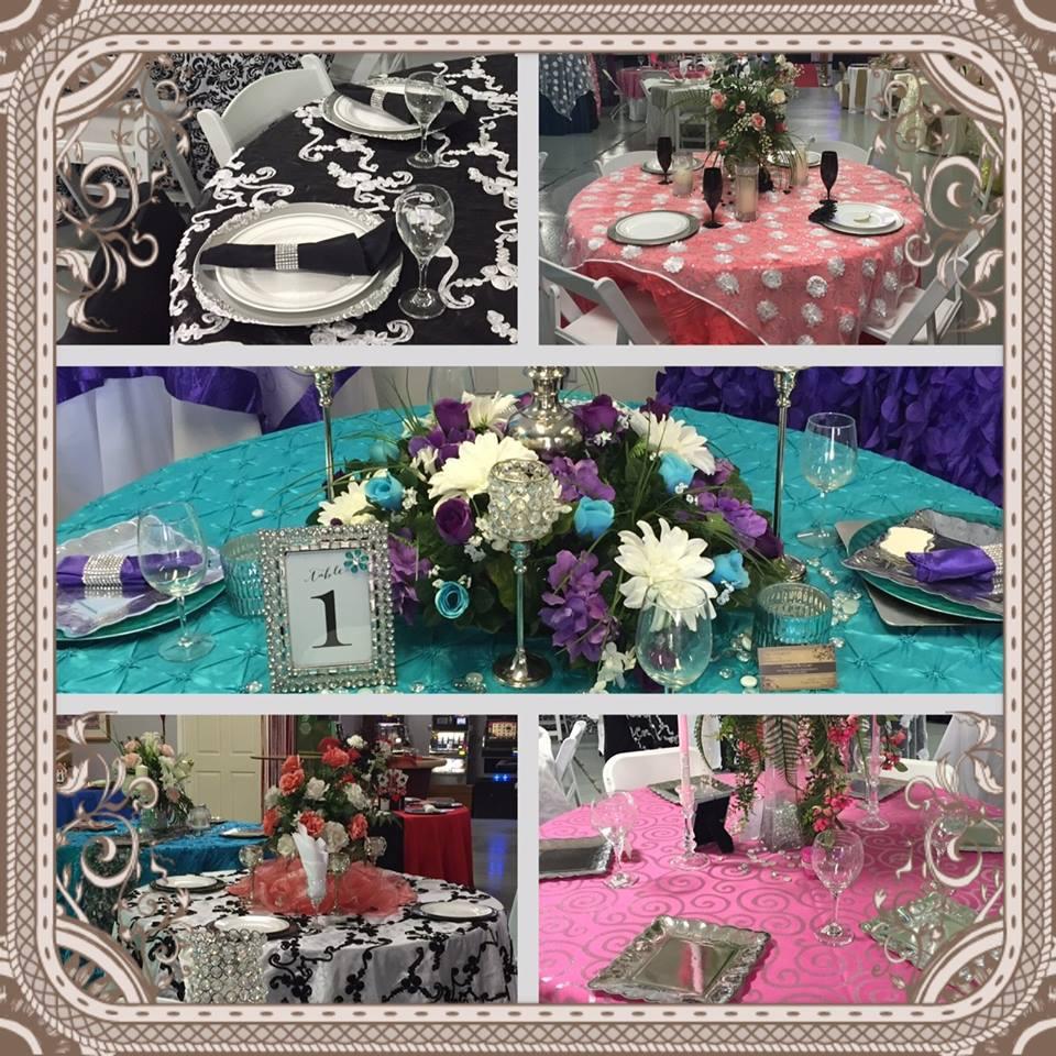 Wedding Decor Rentals - Wedding Rentals - A&S Party Rental