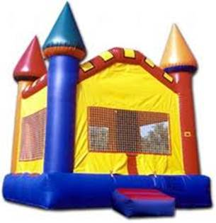 13x13 Castle Moonwalk - Bounce House Rentals