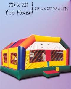 16x20 Extreme Moonwalk - Bounce House Rentals