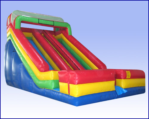 22 Ft Dual Lane Slide