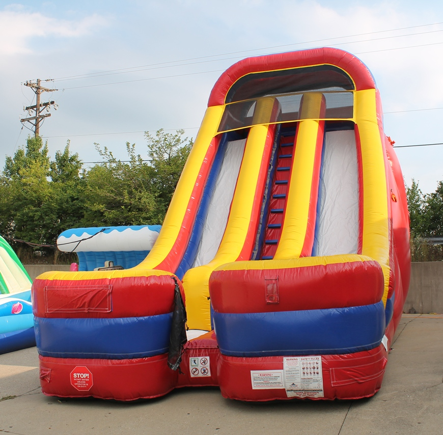 Inflatable Water Slide To Rent: 24 Foot Giant Inflatable Slide