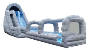 56 Foot Inflatable Dual Lane Water Slide