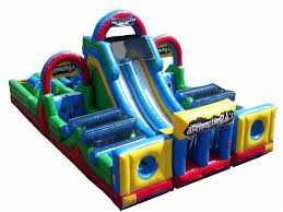 Adrenaline Rush Obstacle Course Rental