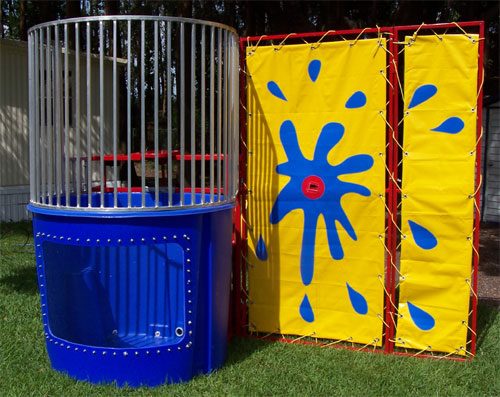 Dunk Tank Rentals Ohio 500 Gallon