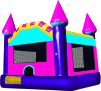 15x15 Princess Castle - Bounce House Rentals