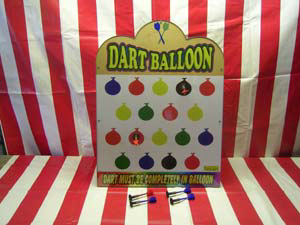 Balloon Dart Carnival Game