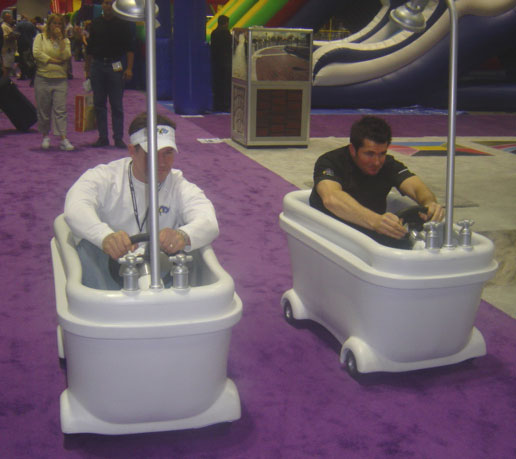 Bath Tub Racers