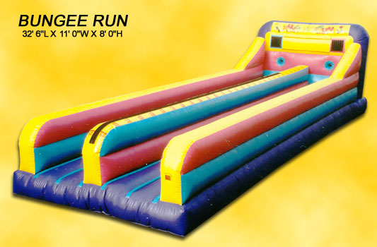Inflatable Bungee Run 2 Lane Rental