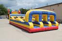 Inflatable Bungee Run 3 Lane Rental