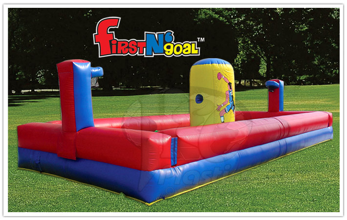 Inflatable Bungee Run First N Goal Rental