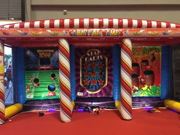 Carnival 3 in 1 Inflatable rental