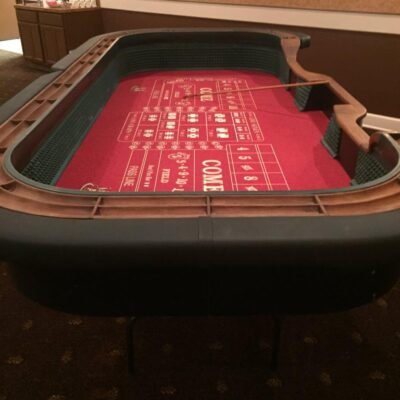 Craps Casino Table