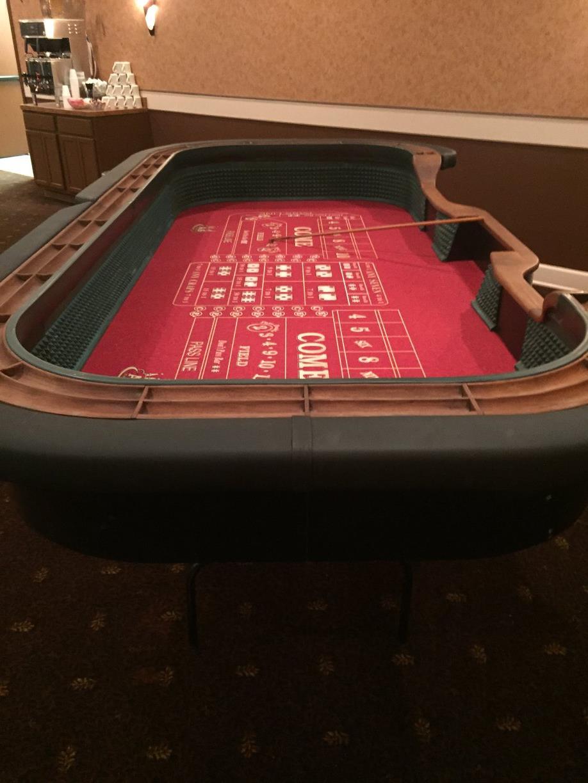 Rent a craps table