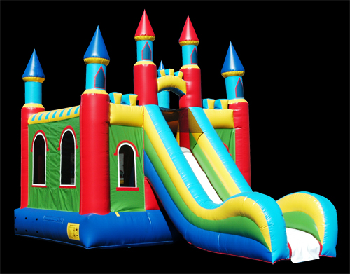 Castle Slide - Bounce House Rentals
