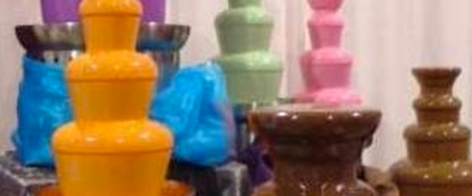 Chocolate & Punch Fountain Rentals
