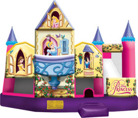 Disney Princess Combo - Bounce House Rentals