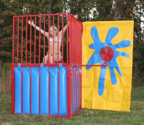 Dunk Booth Rentals 350 Gallons
