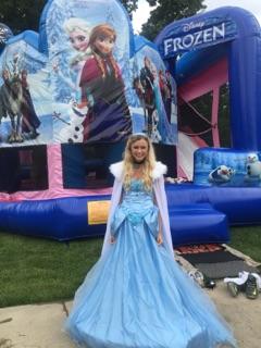Elsa Frozen Character Rental