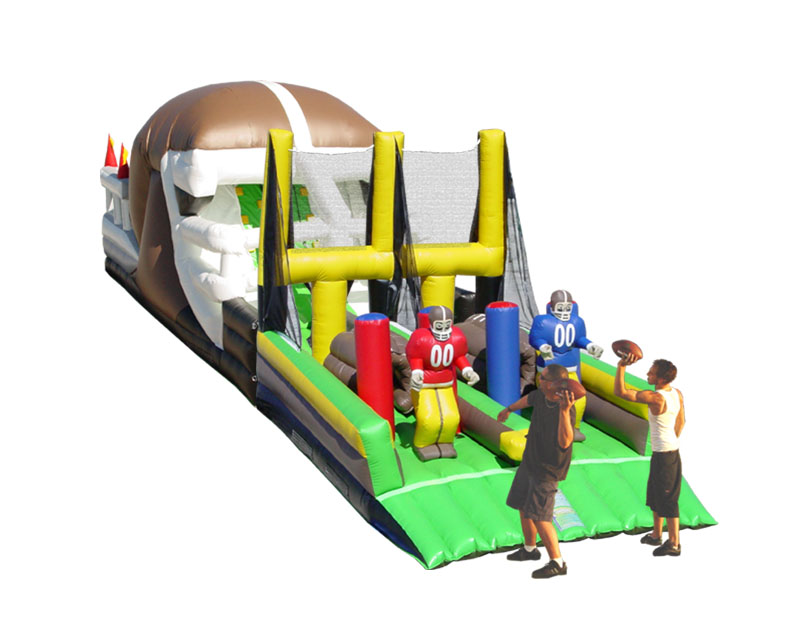 End Zone Scramble Obstacle Course