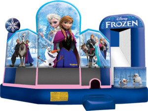 Disney Frozen 5 in 1 Combo - Bounce House Rentals