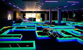 Blacklight Mini Golf Rental