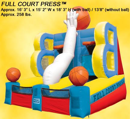 Inflatable Basketball CrossTown Shootout