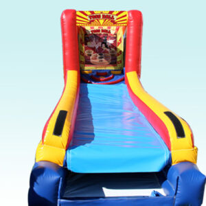 Inflatable Skee ball