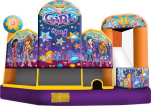 Girl Thing Combo - Bounce House Rentals