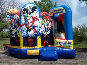 Justice League Combo - Bounce House Rentals