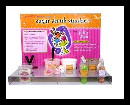 NEW Make Your own Sugar Scrub Sundae's