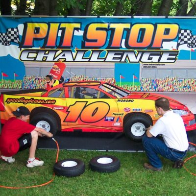 Pit Stop Challenge Carnival Game