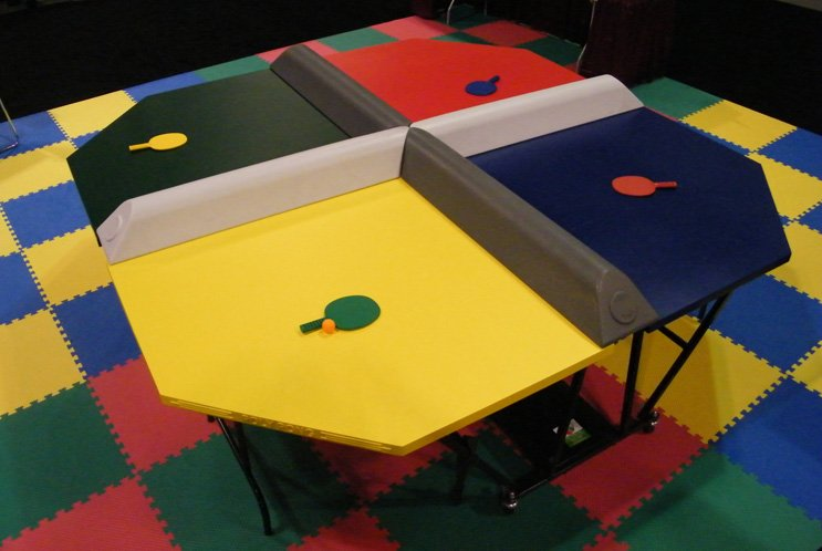 Poly Pong Carnival Game