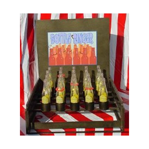 Pop Bottle Ring Toss Carnival Game