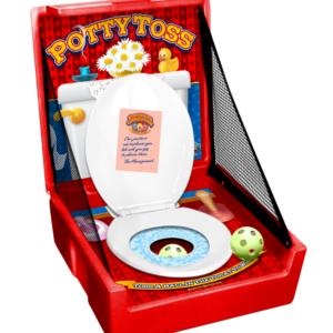 potty toss carnival game rental
