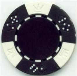 Black poker chip rental
