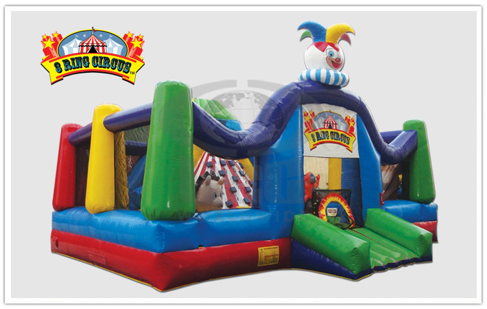 Three Ring Circus Bounce House Party Rentals Corporate