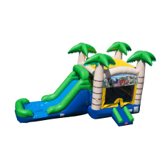 Tropical Combo Bounce House Rental