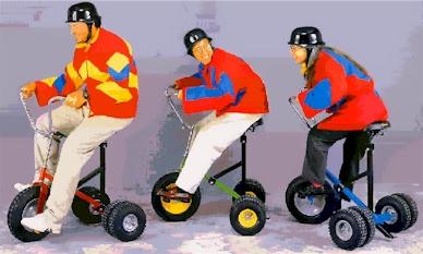 Wacky Giant Trikes