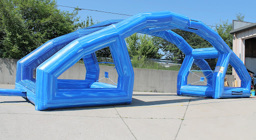 Interactive Inflatable Water Wars Rental