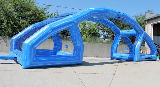 Interactive Inflatable Water Wars Rental