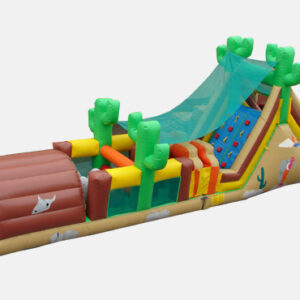 Western Inflatable Obstacle Course
