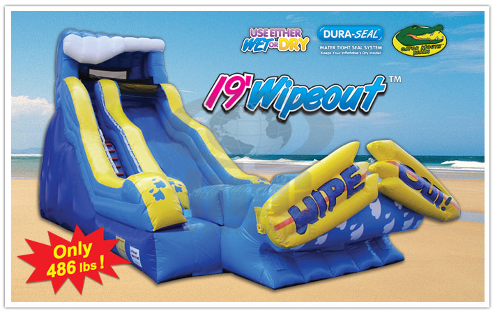 Wipeout Slide Rental