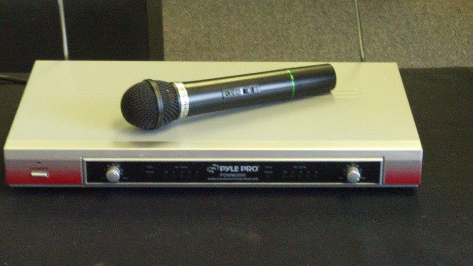 Wireless Microphone - Audio Visual Rentals